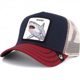 Casquette Goorin Bros Shark bleu marine requin