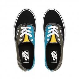 Chaussures Vans Authentic Zig Zag kaki noir