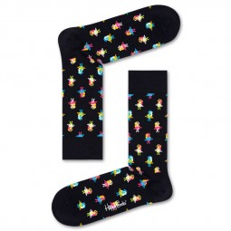 Chaussettes Happy Socks Hula noires