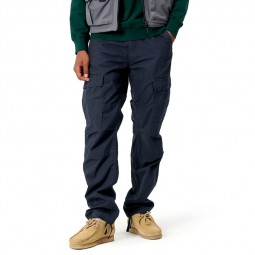 Pantalon Treillis Carhartt Aviation Pant bleu marine
