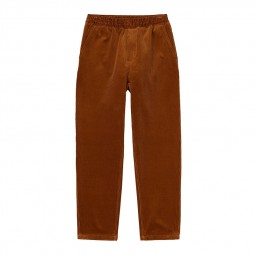 Pantalon velours côtelé Carhartt Flint Pant marron