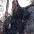Robe Grace & Mila Burgundy noire