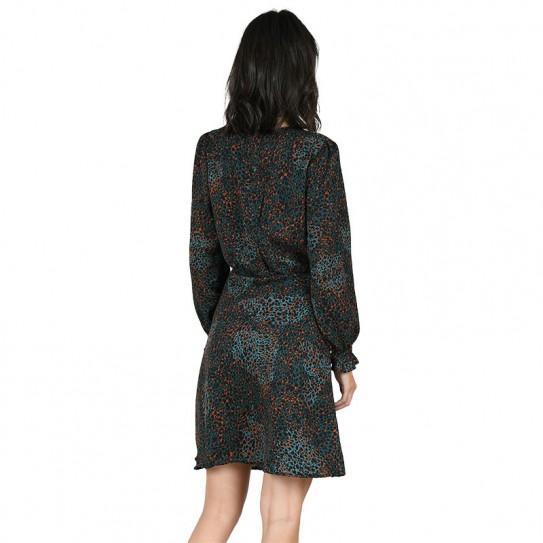 Robe courte motifs léopard Molly Bracken