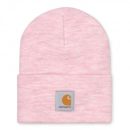 Bonnet Carhartt Acryclic Watch Hat rose chiné