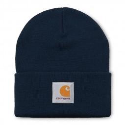 Bonnet Carhartt Short Watch Hat bleu marine