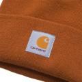 Bonnet Carhartt Short Watch Hat cognac