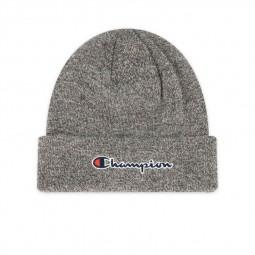 Bonnet à logo Champion gris chiné