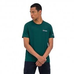 T-shirt Champion uni vert sapin