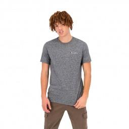 T-shirt Champion uni gris chiné foncé