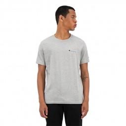 T-shirt Champion uni gris chiné