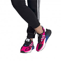 Chaussures Adidas ZX 2K Boost roses