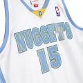 Carmelo Anthony Denvers Nuggets 15 blanc bleu ciel
