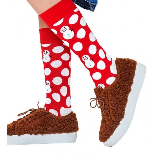 Chaussettes Happy Socks Big Dot Snowman