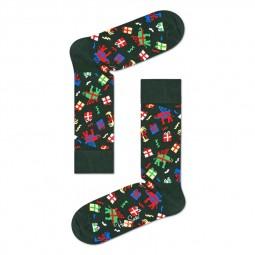 Chaussettes Happy Socks Wish vertes cadeaux