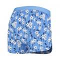 Caleçon A-dam Liam bleu fleurs