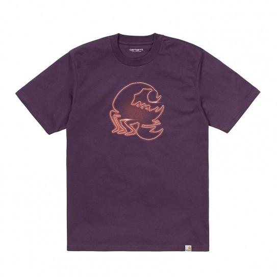 T-shirt manches courtes Carhartt Neon Scorpion