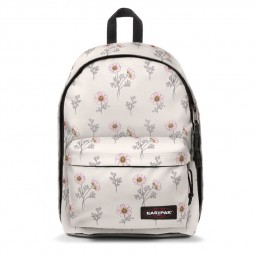 Sac à Dos Eastpak Out of Office Wild White blanc fleurs