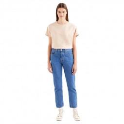 Jean's Levi's® 501® Crop Jeans bleu stone