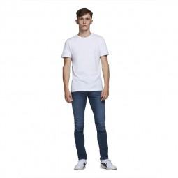 Jeans Jack & Jones Glenn Original bleu foncé délavé