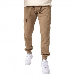 Treillis pantalon cargo Project X Paris beige