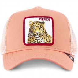 Casquette Goorin Bros Fierce rose tigre