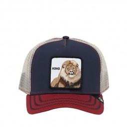 Casquette Goorin Bros Big Rock lion bleu marine