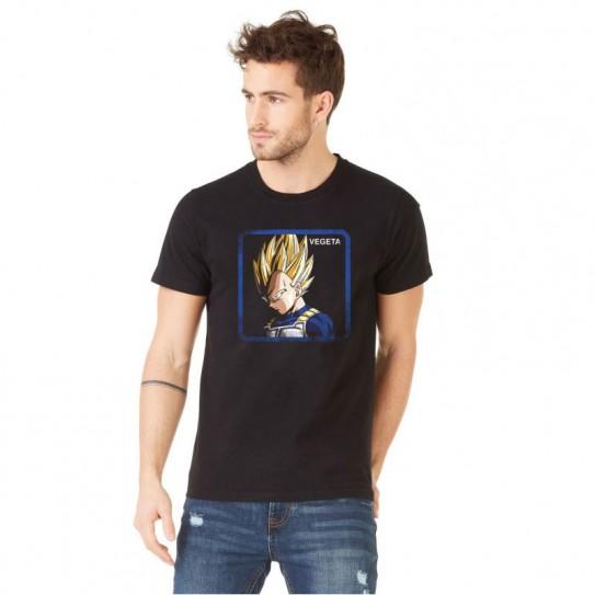 "T-Shirt Capslab Dragon Ball Z ""Vegeta"""