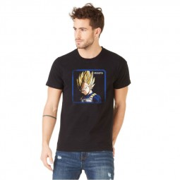 "T-Shirt Capslab Dragon Ball Z ""Vegeta"""