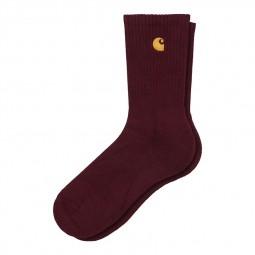 Chaussettes Carhartt Chase Socks bordeaux