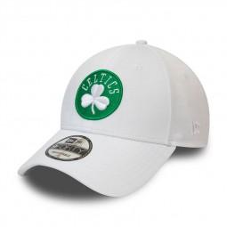 Casquette New Era 9Forty Boston Celtics blanche