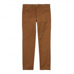 Pantalon Carhartt Sid Pant marron