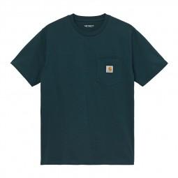 T-shirt manches courtes Carhartt Pocket vert foncé