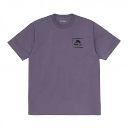 T-shirt manches courtes Carhartt Peace State violet