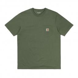 T-shirt manches courtes Carhartt Pocket vert