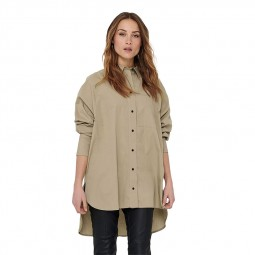 Chemise Only Selma beige