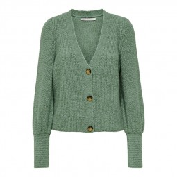 Cardigan mailles Only Clare vert