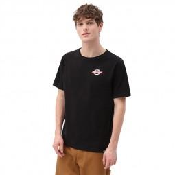 T-shirt Dickies Ruston noir