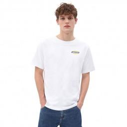 T-shirt Dickies Ruston blanc