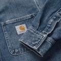 Chemise en jean Carhartt Salinac bleu stone