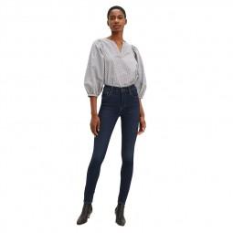 Jean's Levi's® 720 super skinny bleu foncé délavé