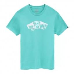 T-Shirt manches courtes Vans Off The Wall vert émeraude