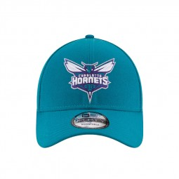 Casquette New Era 9Forty Charlotte Hornets bleue