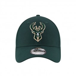 Casquette New Era 9Forty Milwaukee Bucks verte sapin