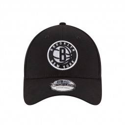 Casquette New Era 9Forty Brooklyn Nets noire