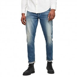 Jeans G-Star 3301 Straight bleu délavé