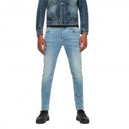 Jeans G-Star 3301 Slim bleu clair