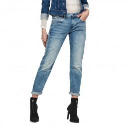 Jean femme G-Star Kate Boyfriend bleu clair délavé