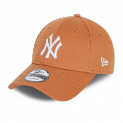 Casquette New Era 9Forty marron et blanc