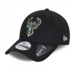 Casquette New Era 9Forty Diamond noir