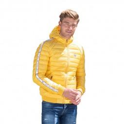 Doudoune JOTT à capuche Colin jaune